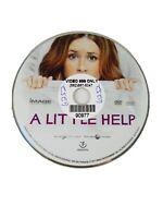 A Little Help 2011 DVD Disc Only Jenna Fischer Chris O'Donnell