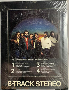 The Doobie Brothers - One Step Closer 8-Track 1980 WB W8 3452 SEALED Embossed