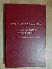 1947 VERY RARE CUBAN COOKING & COCKTAIL RECIPES BOOK CUBA MANUAL DE COCINA