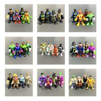 Lot 4 Pcs Set Fisher-Price Imaginext DC Super Friends Comics Series 2 3 4 Figure