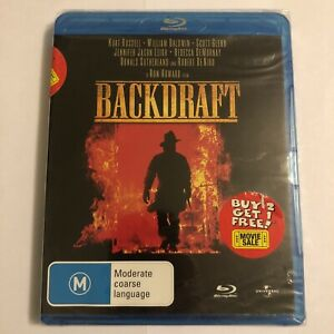 Backdraft Blu-ray - New & Sealed - Damage To Cover