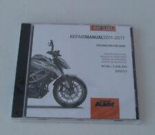KTM 390 Duke duke 390 Reparaturanleitung Repair Manuel CD Mod.11-