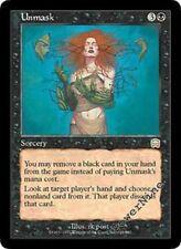 1 PLAYED Unmask - Black Mercadian Masques Mtg Magic Rare 1x x1