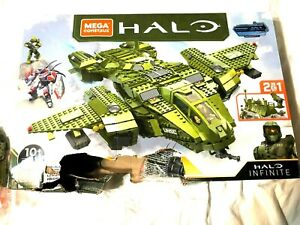 (MISSING PIECES) new Mega Construx Halo Infinite Vehicle - Pelican Inbound