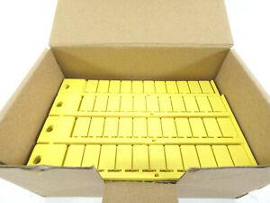 1001 Stück murrplastik KSO 15x9 Kennzeichenschild  | Gelb | 86421027