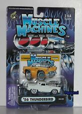 Muscle Machines 1956 Ford Thunderbird 56 T-Bird 2002 Release #02-89 1:64