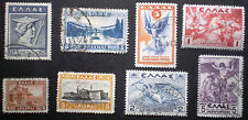 Greece 1922 / 1935 nice group of used stamps