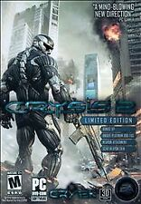 Crysis 2 Limited Edition PC DVD-ROM Rated M 2011 XP Vista Windows 7
