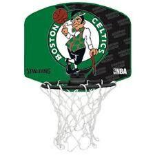 SPALDING NBA Boston Celtics Mini Basketball Backboard hoop with ball