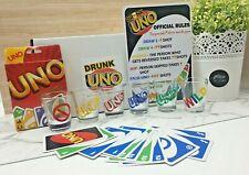 Drunk UNO Adult Game Set 6 Shot Glass