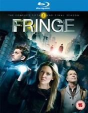 Fringe - Series 5 - Complete (Blu-ray, 2013, 4-Disc Set)