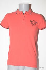 Polo Homme KAPORAL - LOUPAE14M91 Vermillon - Taille S - NEUF
