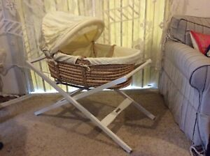 Moses Baby Basket and Stand