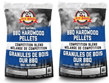 2 Pack Pit Boss BBQ Wood Pellets Competition Blend 40 lbs Backyard Grill Smoker