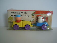 VERY RARE & MINT 1967  Tootsietoy Playmates # 2019B Mickey Milk Mint In Package