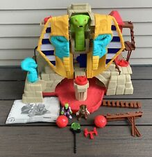 2016 Fisher Price IMAGINEXT Serpent Strike Pyramid WORKING Egypt CLEAN