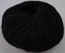 Zarela ARAN ***Super Soft*** 100% Luxurious Baby Alpaca Yarn - Black