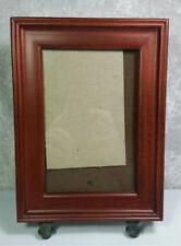 """HB Group Frame Photo Size 4"""" x 6"""" Tabletop or Wall Mount Wood Traditional"""