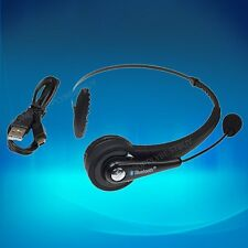 Wireless Bluetooth Gaming Headset Microphone Foldable Headphone For Sony PS3
