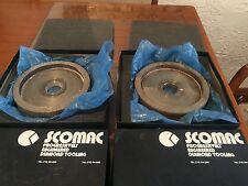 "2 SCOMAC 6 Inch Diameter x1""t x1.250"" H Diamond wheels"