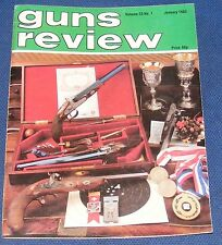 GUNS REVIEW MAGAZINE JANUARY 1983 - BUSHMASTER .223 ASSAULT RIFLE
