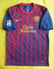5/5 FC BARCELONA 2011-2012 HOME NIKE ORIGINAL SHIRT JERSEY CAMISETA era Messi