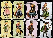 #IMMAGINI Lucide# VECCHIO prua EAS 3183 bambini in costume tradizionale, A (