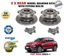 para FIAT 500x 1.4 1.6 1.3d 1.6d 2014- > 2x Cojinete de rueda trasera JUEGO +