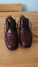 Steptronic Avalon Brown Leather Lace Up Mens Boots Shoes, Size UK 8 /EUR 42