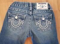 True Religion Slim Kids Jeans Denim Flip Pocket US Size 6
