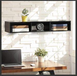 Fitueyes Wall Mounted Hutch/ Hanging Entryway Shelf Model # HT210401WB
