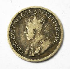 1912 Canada 5c Five Cents Silver Coin Half Dime KM# 22