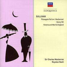 Charles Mackerras, S - Sullivan: Pineapple Poll / Henry Viii [New CD]
