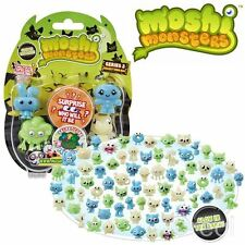 New Moshi Monsters Glow In The Dark Halloween Season 2 5 Figure Pack Official