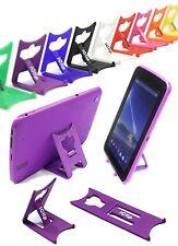 PURPLE iClip: Tesco Hudl 1 2 Tablet Holder Travel & Desktop Folding Stand