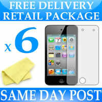 6 x Anti Scratch LCD Screen Protectors for Apple iPod Touch 4 4th Generation