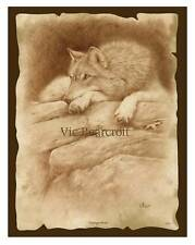 'Vantage Point'. Limited Edition Wolf Print.