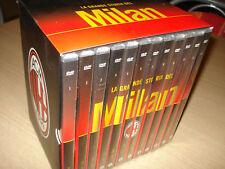 BOX COFANETTO 12 DVD LA GRANDE STORIA DEL MILAN NEW AC CALCIO RIVERA CHAMPIONS