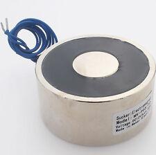 80kg 176LB DC12V Electric Lifting Magnet Holding Electromagnet Solenoid P65/30