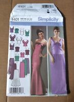 Simplicity 4401 New UnCut Evening Top & Skirts Formal Wear Size 20w-28w