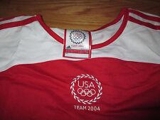 2004 Adidas TEAM USA U.S. OLYMPICS TEAM (Youth 3XL) Jersey
