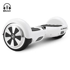 "Bluetooth 6.5"" Patín Eléctrico Scooter Self Balancing Overboard Bolso Mando LED"