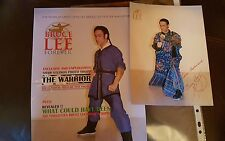 BRUCE LEE FOREVER MAGAZINE THE WARRIOR INC RARE LIMITED EDITION  PHOTO. NEW.
