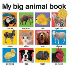 My Big Animal Book (Board Book)