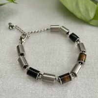 Bracelet Modernist Stainless Steel Temperature Changing Minimalist Industrial