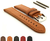 Men's Genuine Leather Watch Strap Band SS. Buckle 18 20 22 24 Grand Catalonia MM