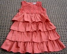 WILLOW AND FINN GIRLS CORAL DRESS SZ 6 - 7