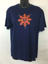 Chicago Bears Women's SS T-Shirt! Size M. Navy Blue with Orange Bear Logo. EUC!!
