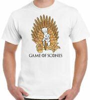 Juego de Tronos Divertido Scones Baker Parodia Combinación Camiseta Hombre Got