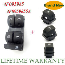 4X Electric Master Window Switch Sets For AUDI A3 A6 S6 C6 Allroad Q7 RS6 NEW